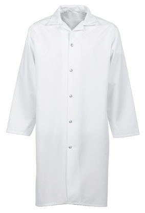 Picture of Snap-Front Butcher Coat (no pockets)