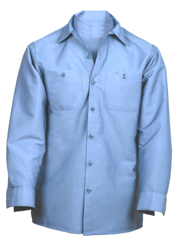 Picture of Industrial Work Shirt- Long Sleeve