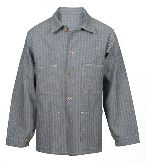 Picture of Fisher Herringbone Overall Jacket/Chore Coat (DISCONTINUED STYLE)