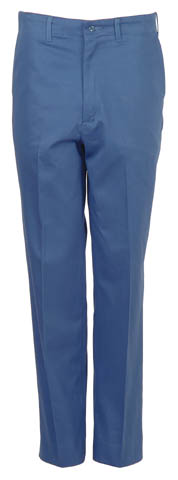 Picture of Postman Blue Cotton Industrial Pant (SECONDS QUALITY)