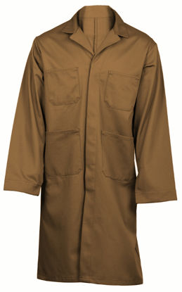 Picture of Suntan/Tan (DISCONTINUED COLOR) Cotton Shop Coat-available in first and second quality