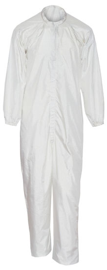 Picture of Cleanroom Flame Resistant Coverall