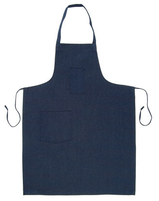 Picture of Neckband Apron (Blue Denim)-(DISCONTINUED COLOR)