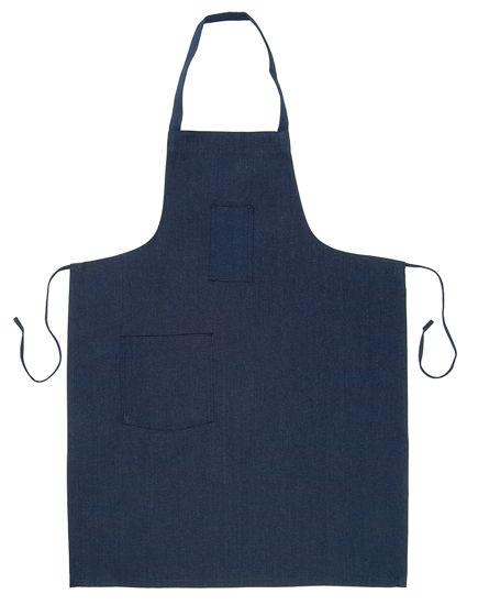 Picture of Neckband Apron (Blue Denim)-(DISCONTINUED COLOR)