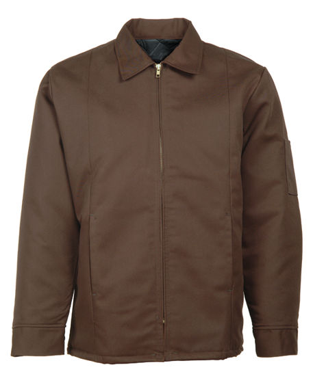 Picture of Brown (DISCONTINUED COLOR) Perma-Lined Panel Jacket