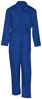 Picture of Electric Blue (DISCONTINUED COLOR) Twill Action Back Coverall- Long Sleeve