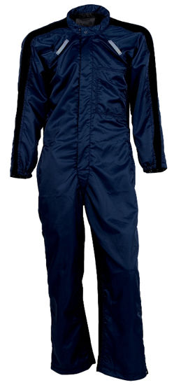 Picture of Chrysler-Style/Paint Room Coverall-Navy Blue (seconds quality)