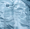 "Picture of General Motors Paint Room Coverall with ""Truck Paint"" OR ""Passenger Paint"" Heat Transfer (1st Quality)"