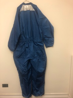"Picture of Paint Room Coverall with ""Team Texas"" Heat Transfer (1st Quality)"