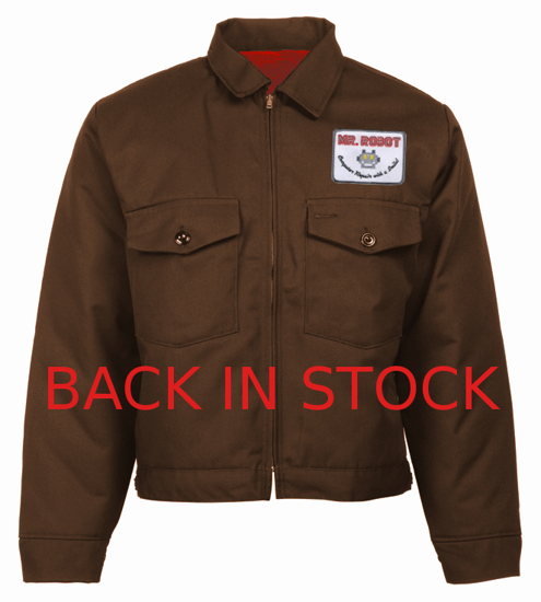 Picture of Eisenhower Patch Pocket  Jacket-WITH PATCH/LIMITED EDITION-Red Lining (as seen on Mr. Robot)