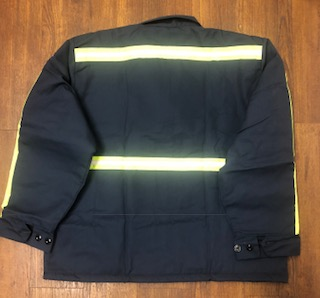 Picture of High Visability Perma-Lined Panel Jacket with Reflective Tape (brand new-overstock)
