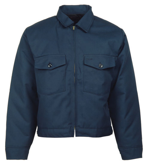 Picture of Navy Blue (DISCONTINUED COLOR-1ST QUALITY) Eisenhower Patch Pocket Jacket