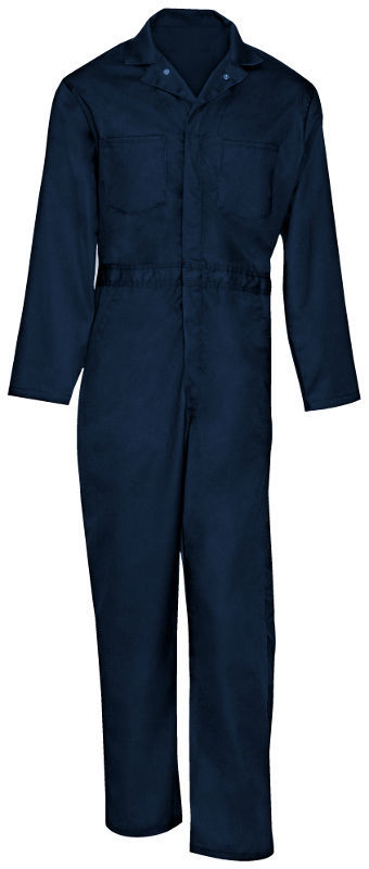 Picture of Cotton Snap Front Closure Coverall-Long Sleeve