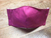 Picture of Face Mask (worn behind the ears) with Filter Pocket for Men or Women-Hot PInk