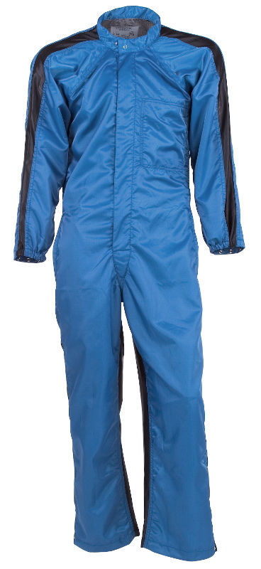 Picture of Paint Room Coverall-Royal Blue (black full vented back)