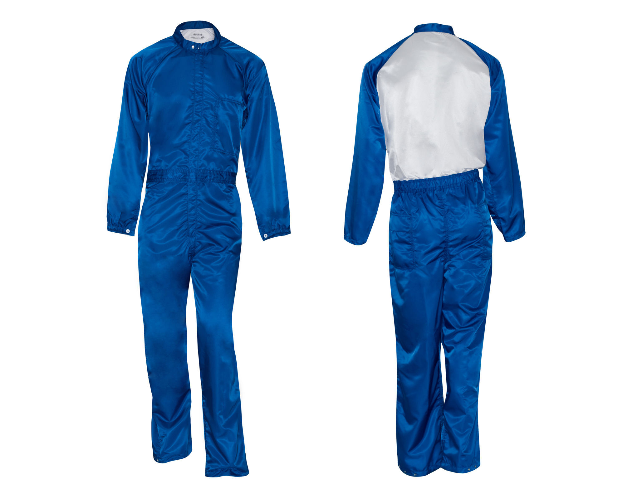 Picture of Paint Room Coverall - upper back portion is fully vented in white (1st Quality)