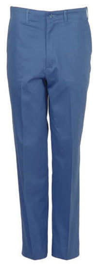 Picture of Postman Blue Cotton Industrial Pant (1ST QUALITY-DISCONTINUED COLOR AND STYLE)