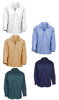 Picture of Pocketless Wrinkle-Resistant Cotton Work Shirt (Long Sleeve-No Buttons)