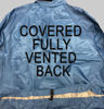 Picture of Paint Room Coverall-Royal Blue (1st quality)-Fully Vented Back with Cape-venting on the leg, no arm venting