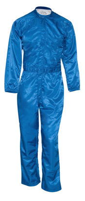 Picture of Paint Room Coverall-Royal Blue (1st quality)-no venting, no pockets,slit opening in upper back
