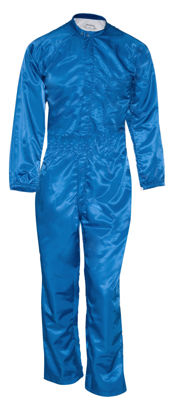 Picture of Paint Room Coverall-Royal Blue (1st quality)-no pockets, 1 piece front