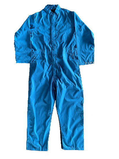 Picture of Paint Room Coverall-Royal Blue with Side Opening with Gripper Closure (1st quality)