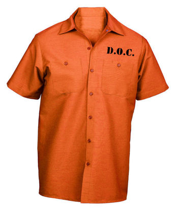 Picture of Prison Shirt for Halloween