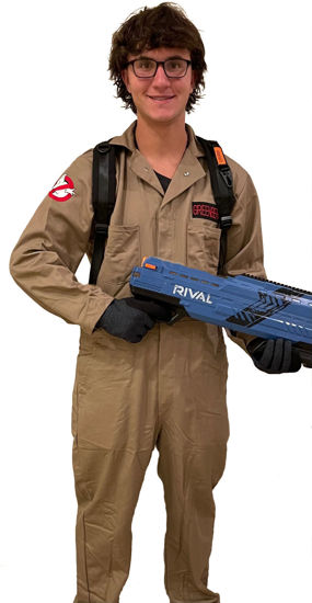 Picture of Ghostbusters Coverall>Jumpsuit (Halloween Costume)
